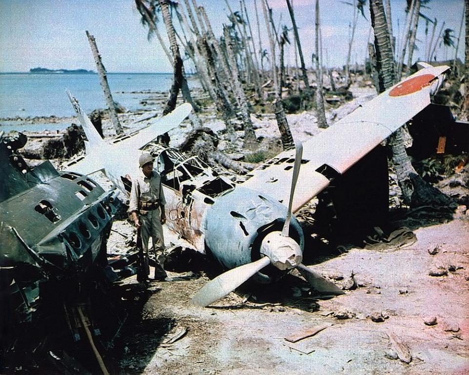 2695 - Война на Тихом океане в цвете
