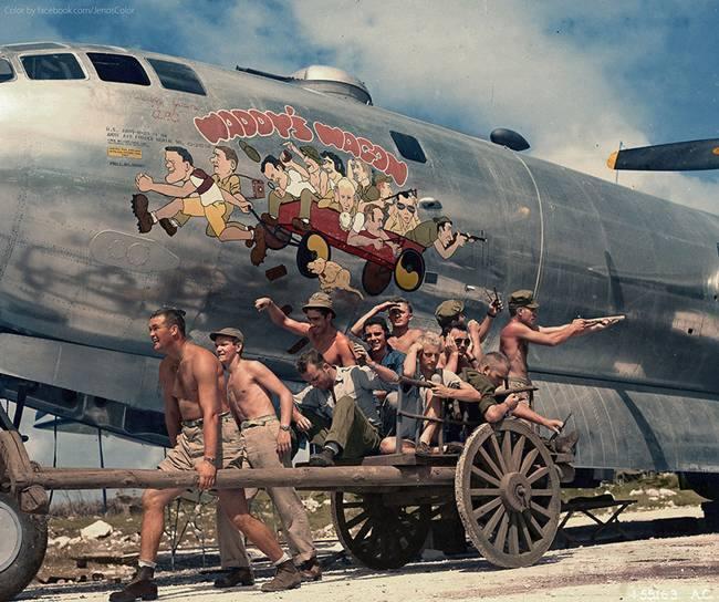 2703 - Стратегические бомбардировки Германии и Японии