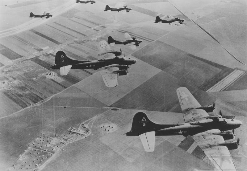 2794 - Стратегические бомбардировки Германии и Японии