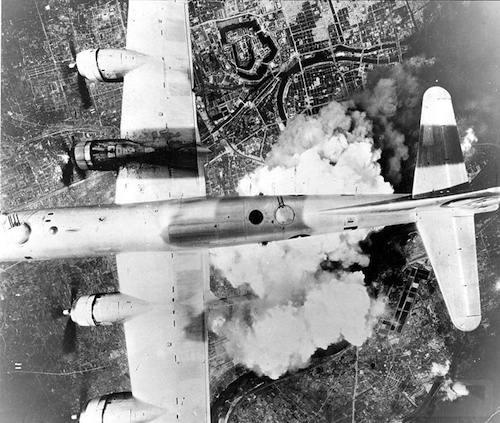 2810 - Стратегические бомбардировки Германии и Японии
