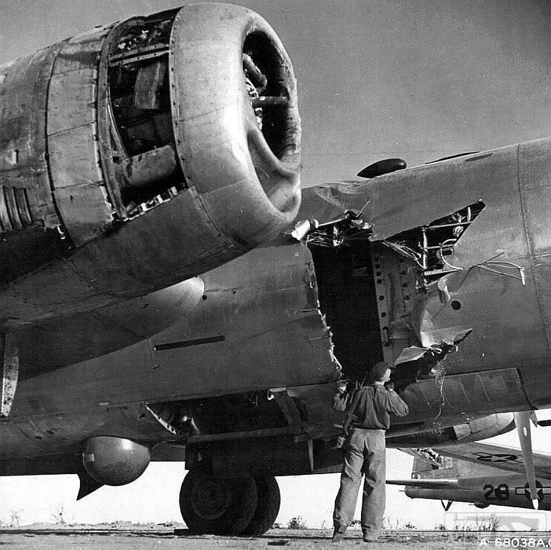29357 - Стратегические бомбардировки Германии и Японии