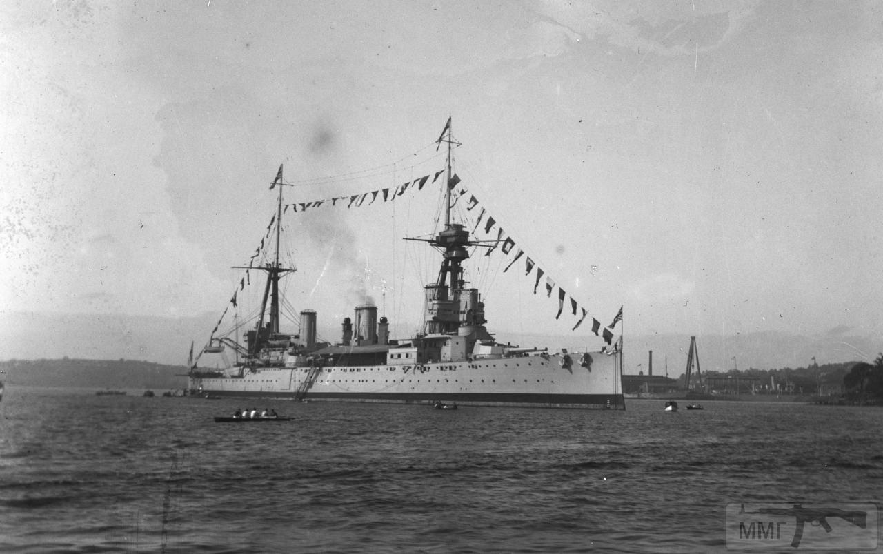 30535 - Броненосцы, дредноуты, линкоры и крейсера Британии