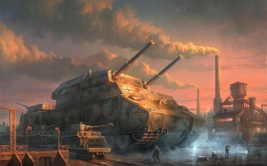 3062 - Самые необычные танки