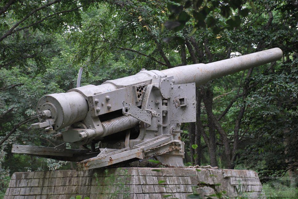 30725 - Корабельные пушки-монстры в музеях и во дворах...