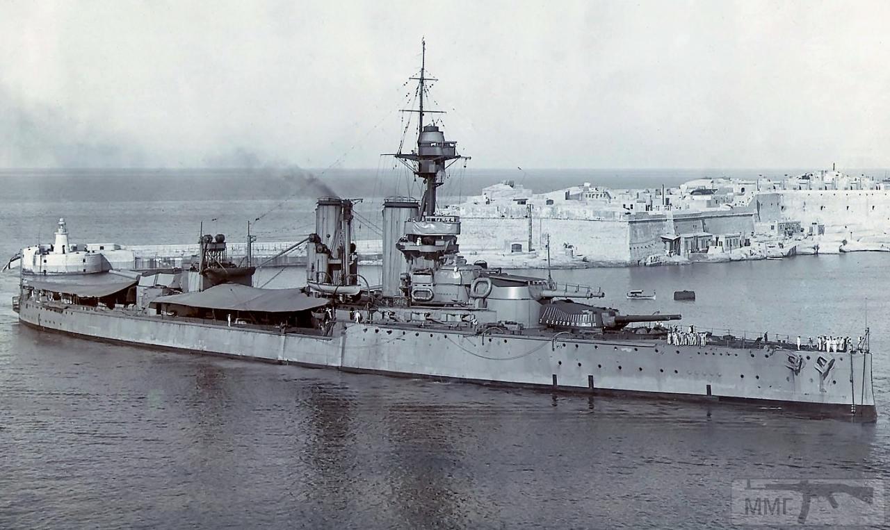 30886 - HMS Ajax на Мальте, 1921 г.