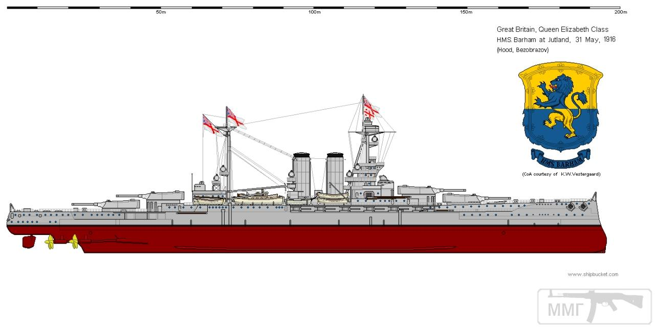 32239 - Броненосцы, дредноуты, линкоры и крейсера Британии