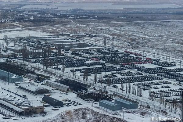 3255 - Командование ДНР представило украинский ударный беспилотник Supervisor SM 2, сбитый над Макеевкой