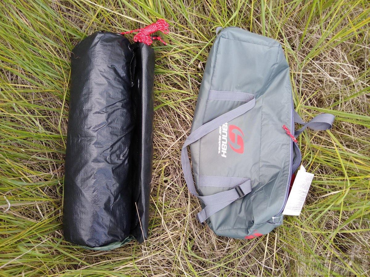 32551 - 3х местная палатка Hannah + тент (Чехия)