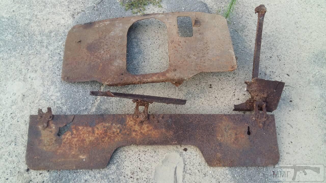 33068 - Колеса и лафет на полевую пушку обр 1927 года