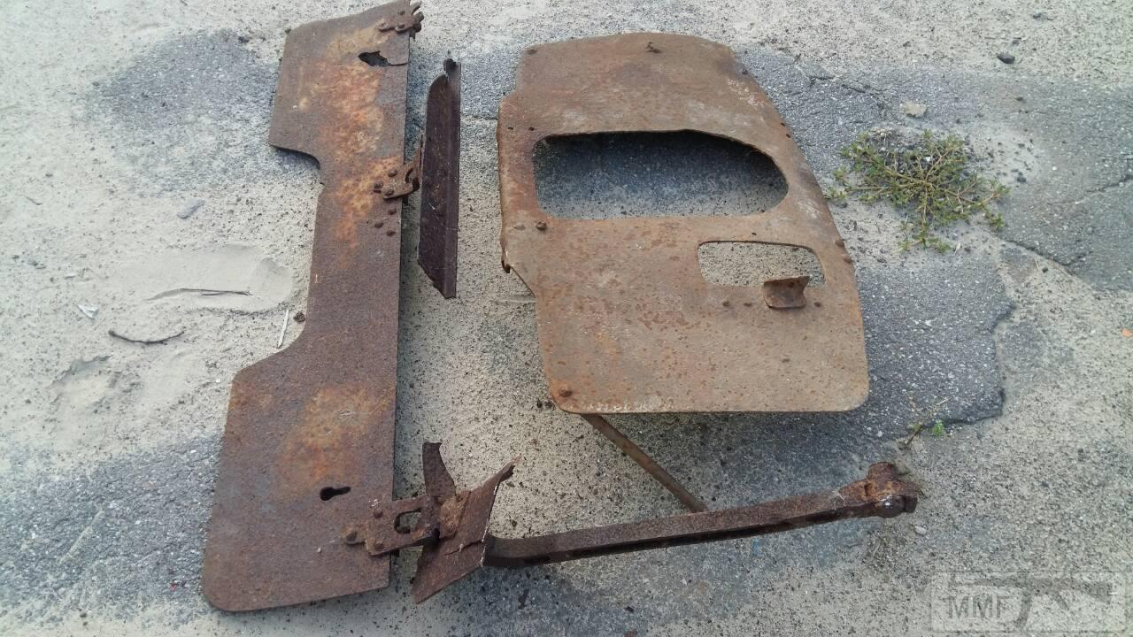 33069 - Колеса и лафет на полевую пушку обр 1927 года