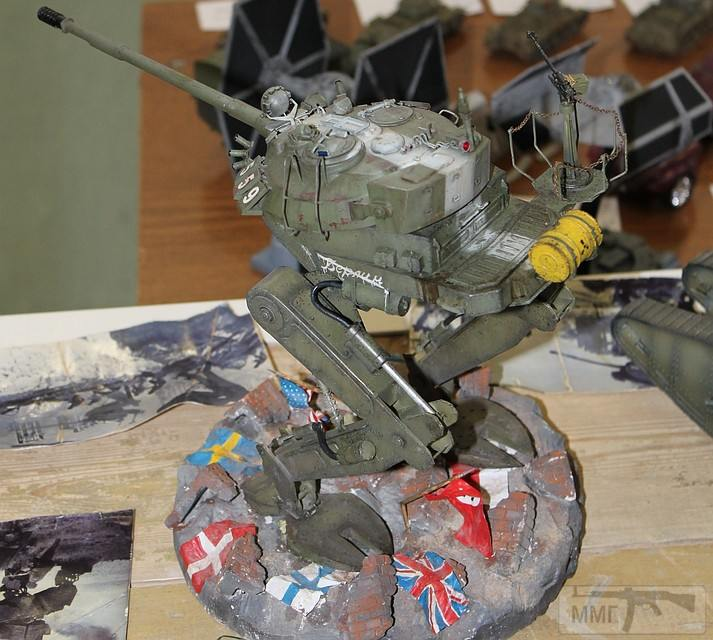 33606 - Донецкие моделисты показали в России свои работы: Советский шагоход взял Вашингтон и призовое место.