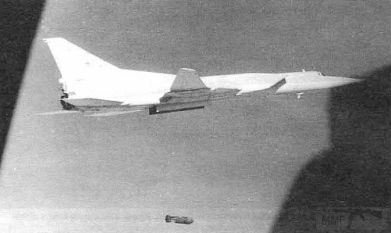 3420 - Ту-22М3 из 185-го Гв.ТБАП наносят удар ФАБ-3000М54