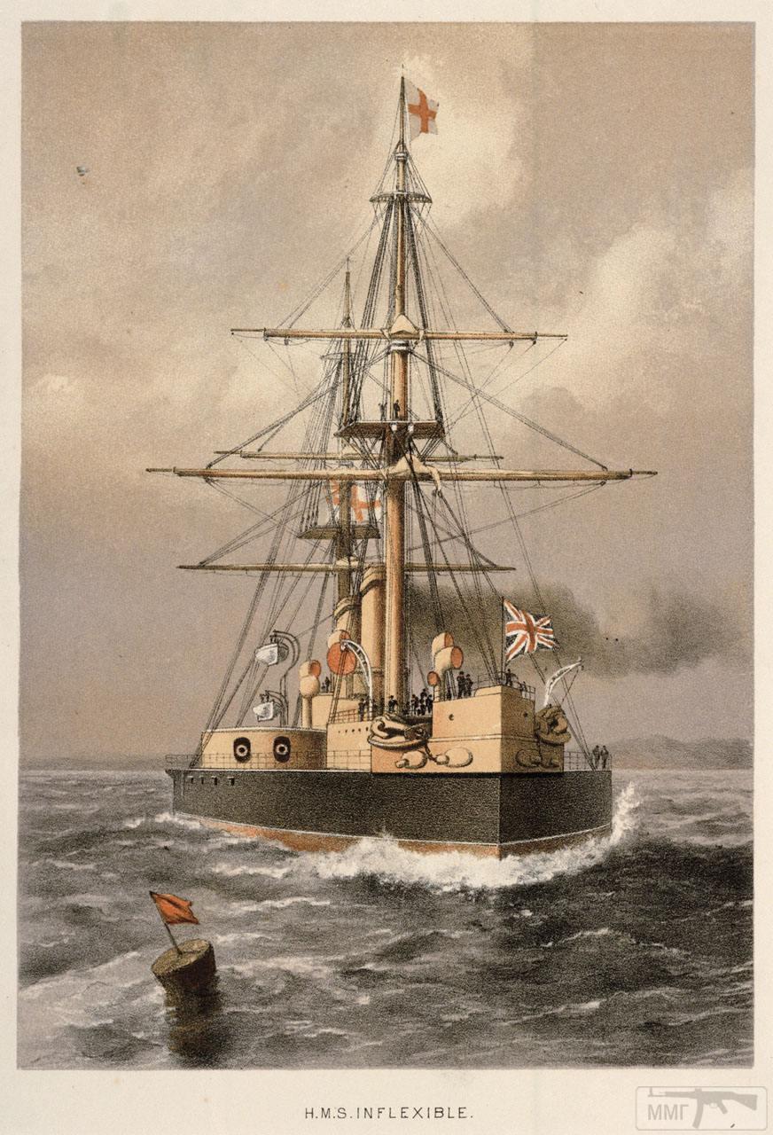 34450 - Броненосцы, дредноуты, линкоры и крейсера Британии
