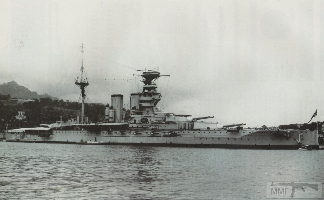 34836 - HMS Valiant в 1920-е годы