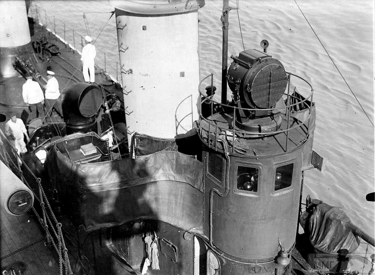 34935 - Миноносец S-90 у борта SMS Gneisenau