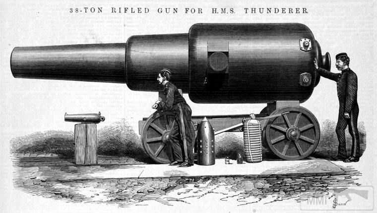 35002 - Орудие HMS Thunderer