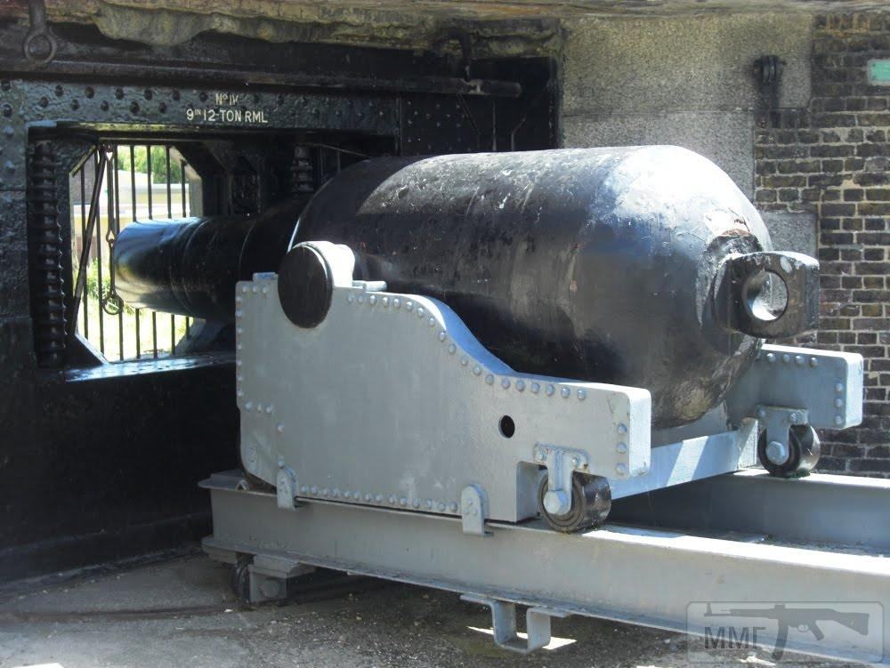 35026 - Replica RML 9 inch gun