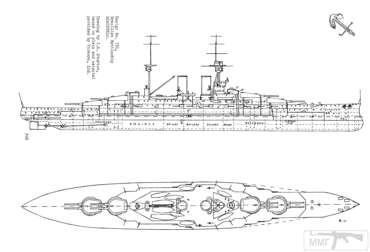 35070 - Линкор Riachuelo