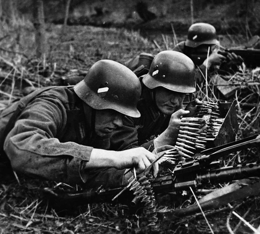 3521 - Все о пулемете MG-34 - история, модификации, клейма и т.д.