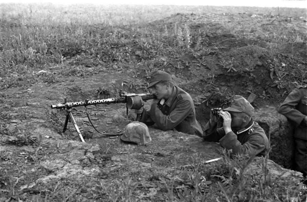 3525 - Все о пулемете MG-34 - история, модификации, клейма и т.д.