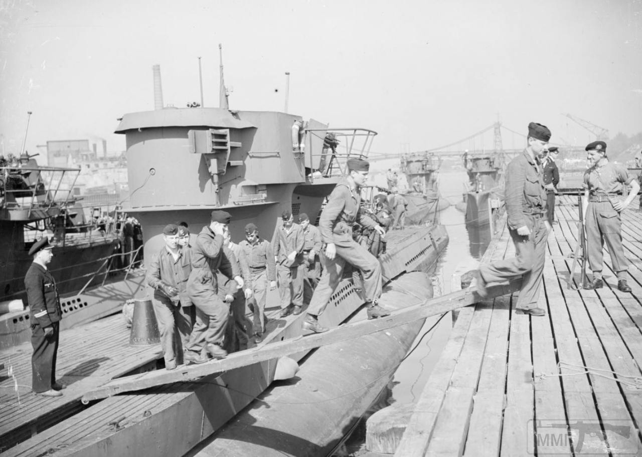 35336 - Действия немецких подлодок в Атлантике