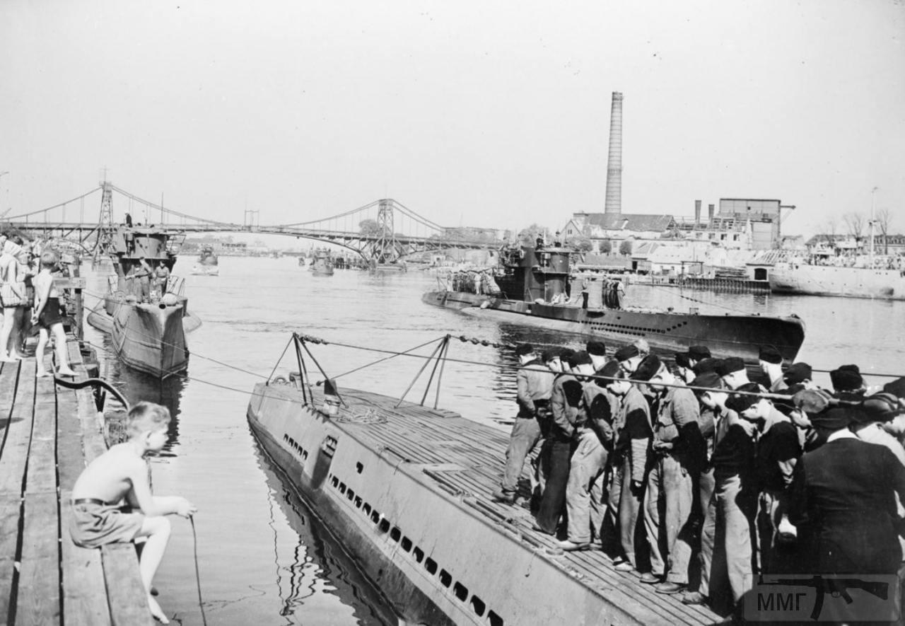 35338 - Действия немецких подлодок в Атлантике