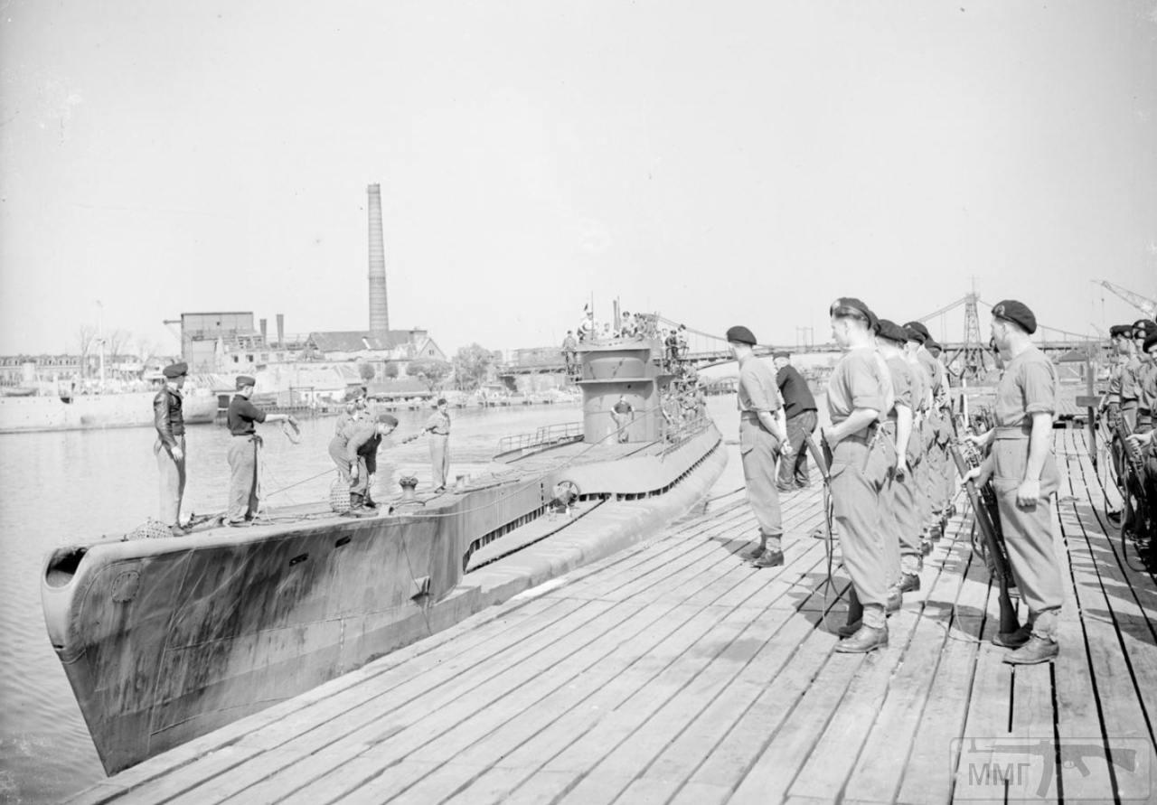 35348 - Действия немецких подлодок в Атлантике