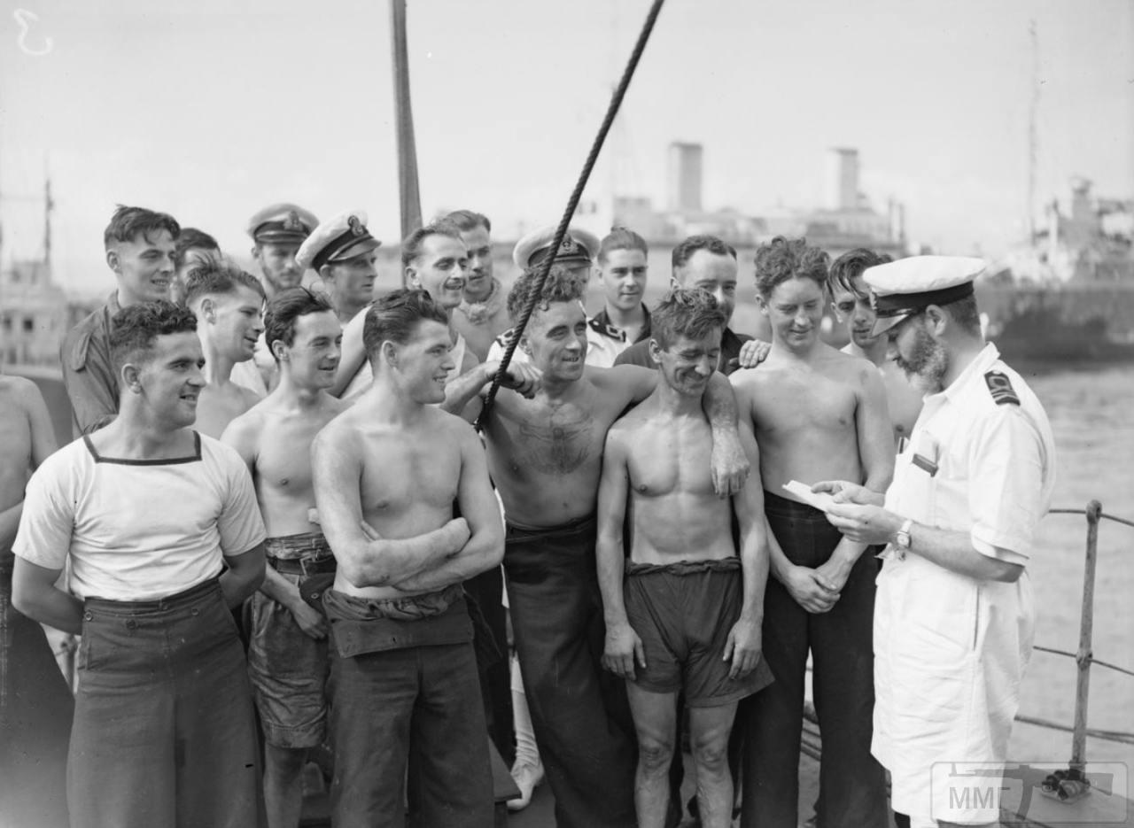 35351 - Действия немецких подлодок в Атлантике