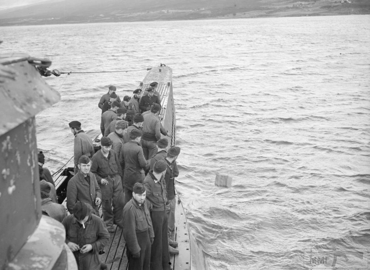 35364 - Действия немецких подлодок в Атлантике