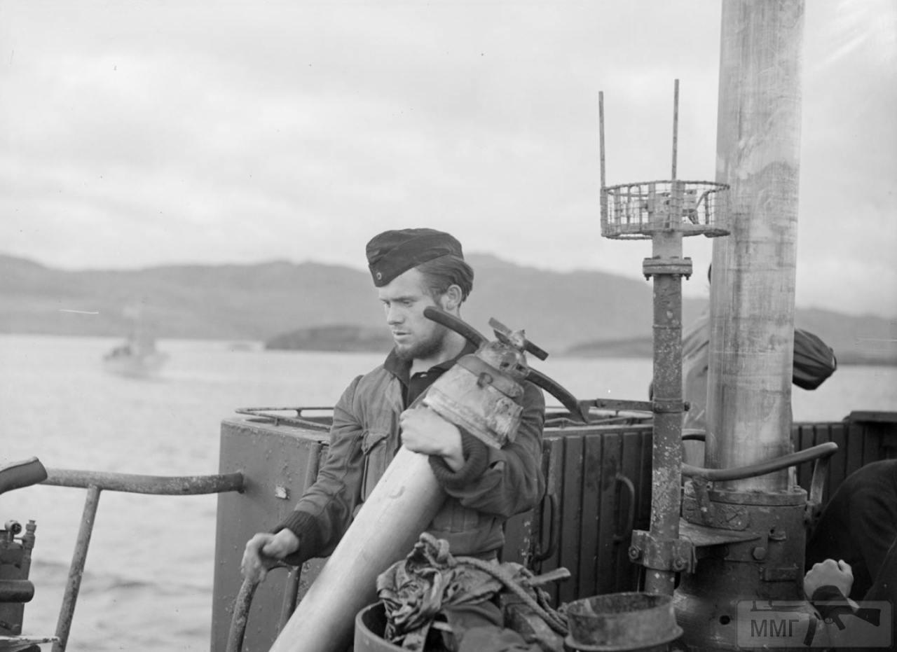 35365 - Действия немецких подлодок в Атлантике