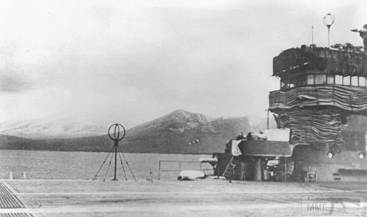 35528 - На палубе авианосца Zuikaku, бухта Хитокаппу, Итуруп, ноябрь 1941 г.