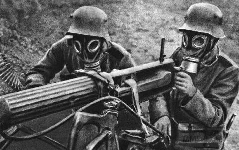 3589 - немецкий противогаз первой мировой
