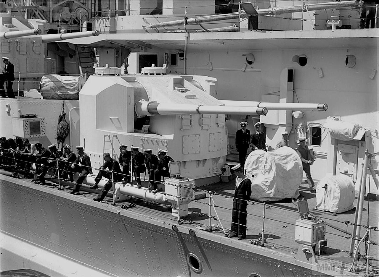 """36009 - Башня 5.25"""" (13.4 cm) линкора HMS King George V"""