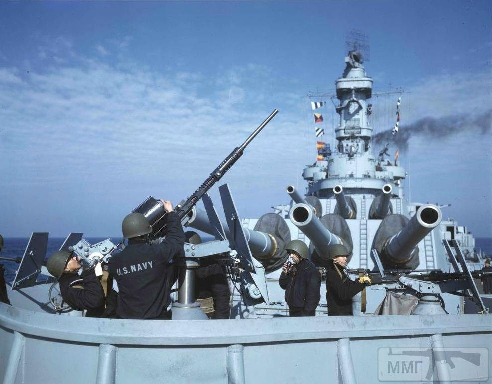 36022 - USS Iowa (BB-61), январь 1943 г.