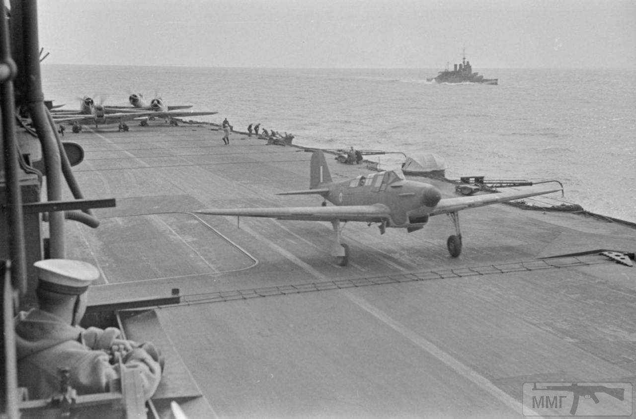 36156 - На палубе HMS Ark Royal, апрель 1941 г.