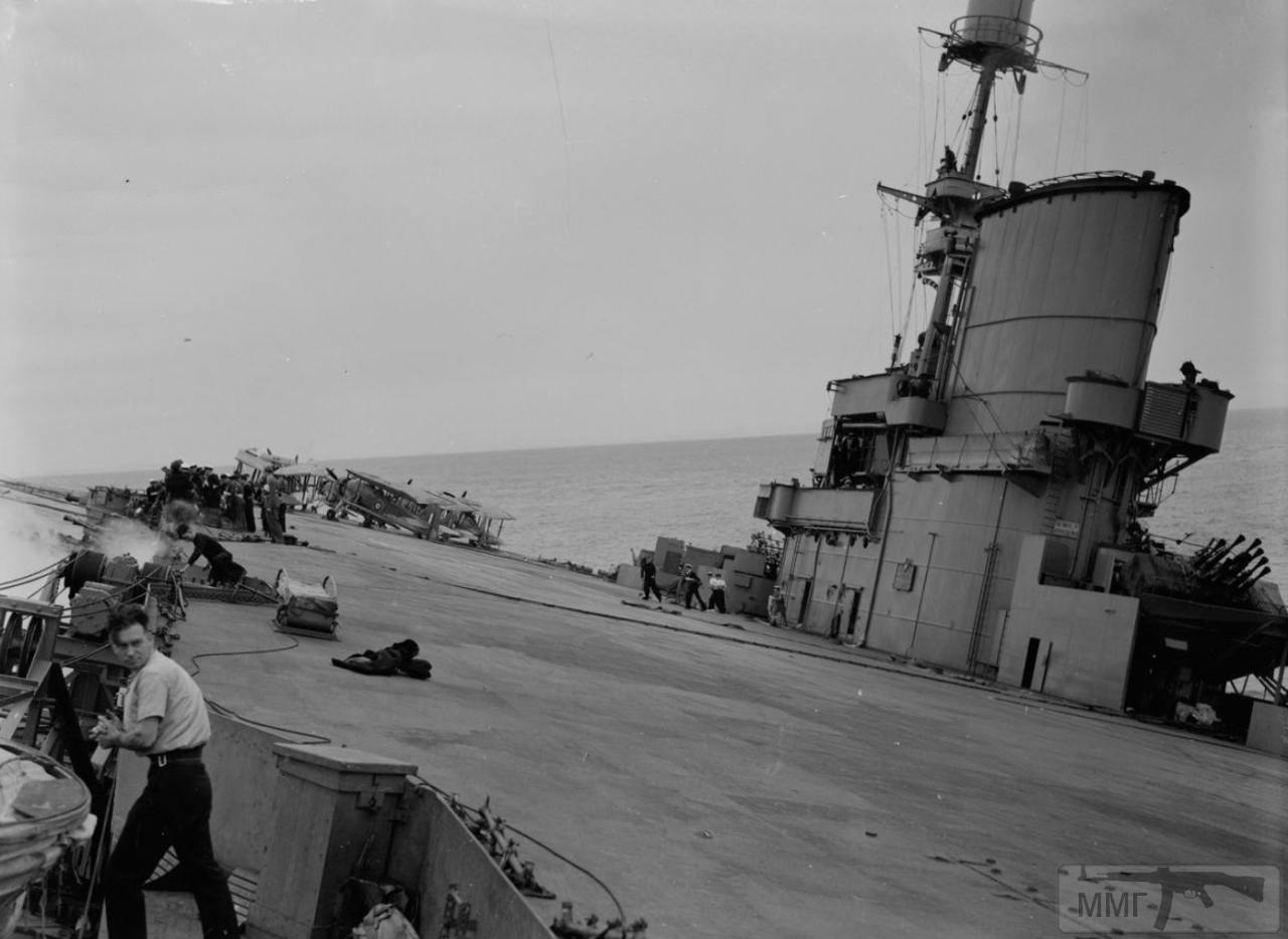 36160 - Гибель HMS Ark Royal, 13 ноября 1941 г.