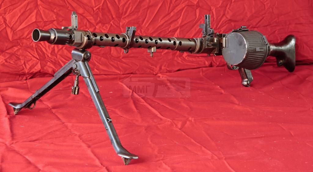 362 - Все о пулемете MG-34 - история, модификации, клейма и т.д.
