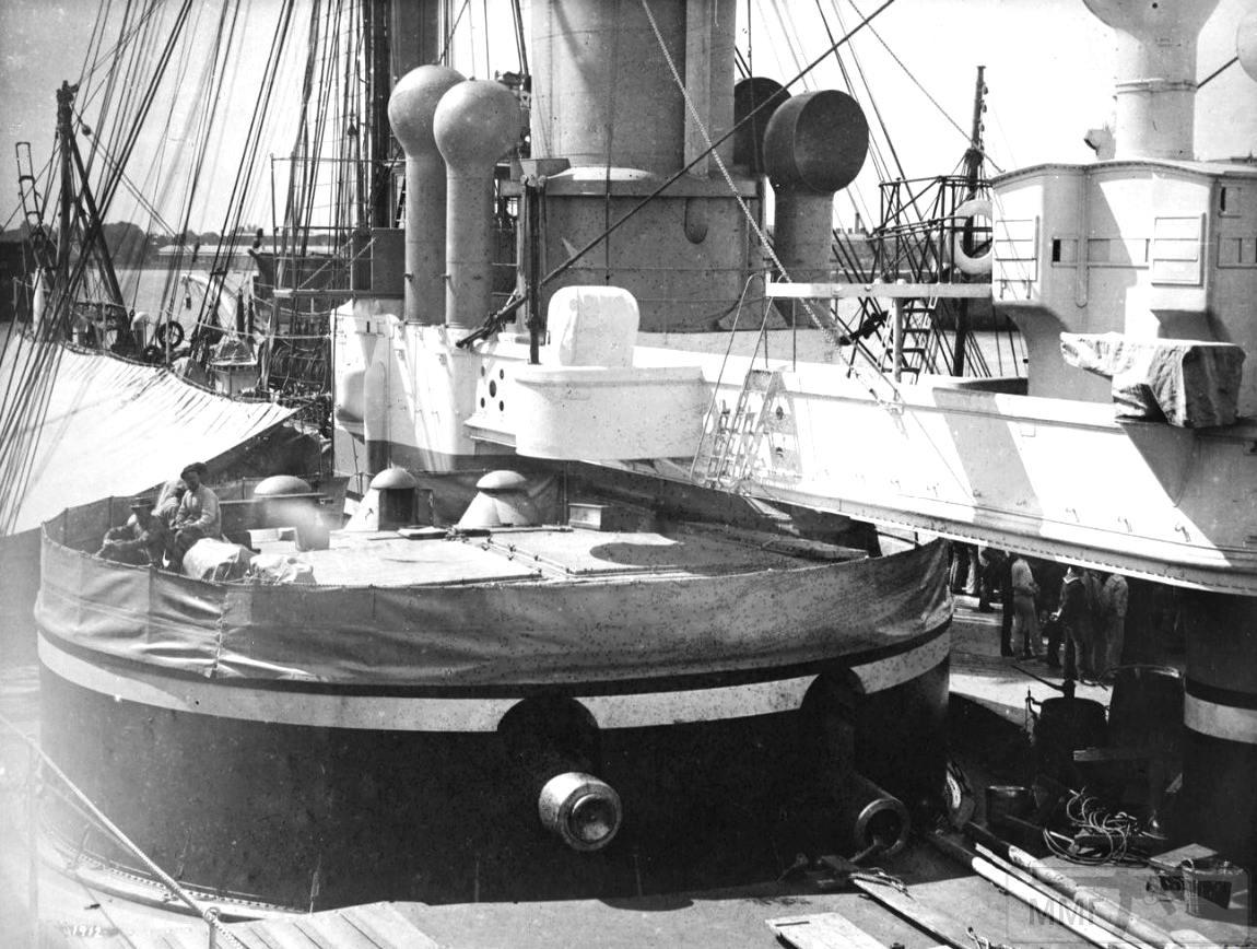 36475 - Башня главного калибра броненосца HMS Inflexible