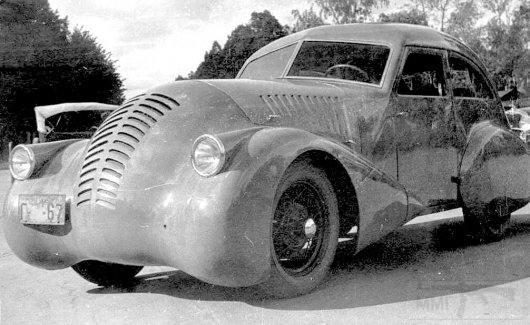 3650 - GAZ-A-Aero, разработанный Алексеем Никитиным Осипович, 1934
