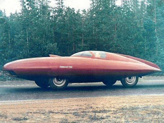 3652 - Торпедо-ГАЗ, на основе Победы M-20, имел трубчатый каркас из дюралюминия, 1951