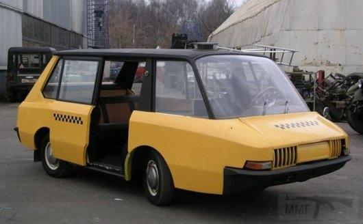 3656 - ВНИИТЭ-ПТ, концепция такси Научно-исследовательского института СССР промышленного дизайна 1964 года