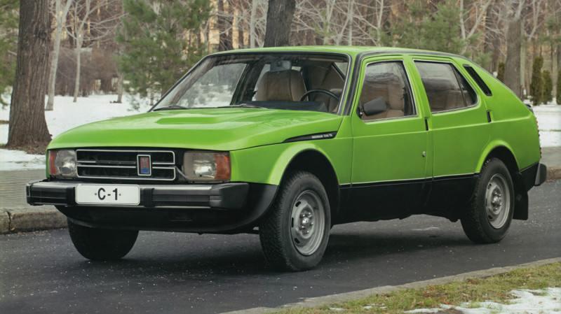 3660 - Москвич С-1, 1974 год.