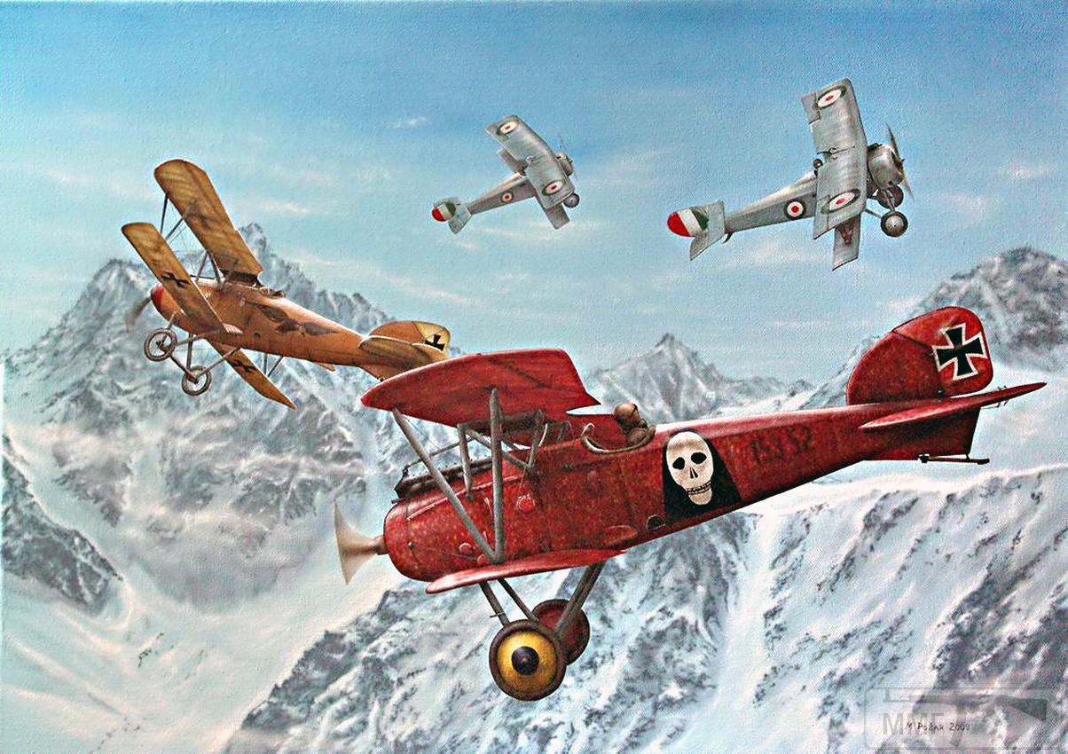 37027 - Авиация и летчики Первой Мировой Войны.