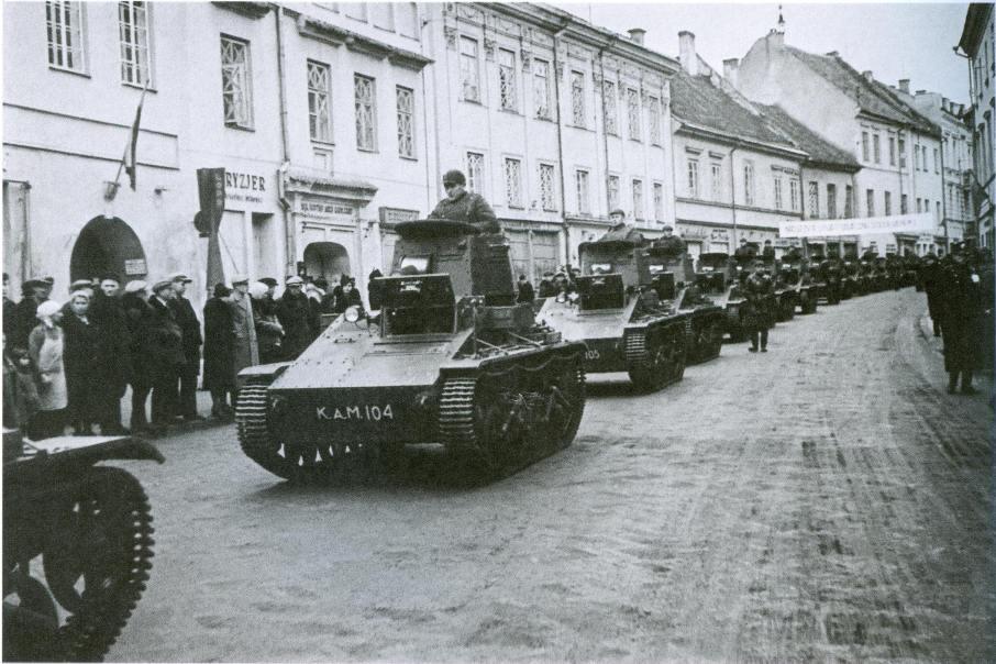 3715 - Раздел Польши и Польская кампания 1939 г.