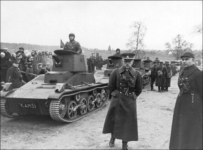 3716 - Раздел Польши и Польская кампания 1939 г.