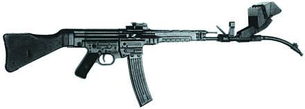 3752 - Sturmgewehr Haenel / Schmeisser MP 43MP 44 Stg.44 - прототипы, конструкция история