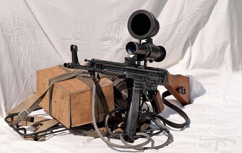 3756 - Sturmgewehr Haenel / Schmeisser MP 43MP 44 Stg.44 - прототипы, конструкция история