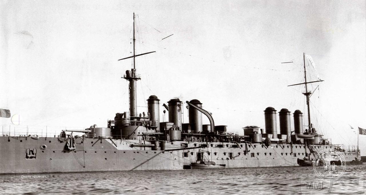 37668 - Броненосный крейсер Edgar Quinet
