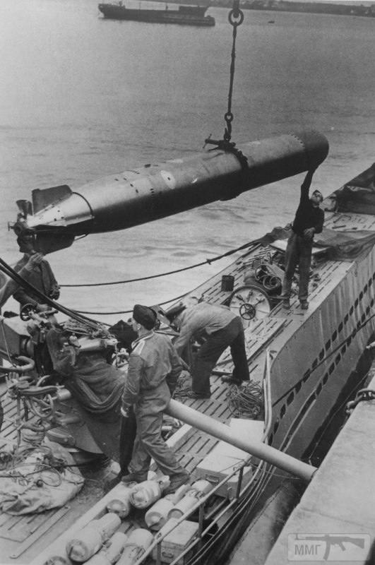 37707 - Действия немецких подлодок в Атлантике