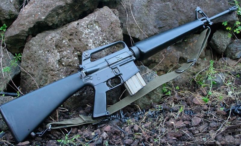 38308 - Семейство Armalite / Colt AR-15 / M16 M16A1 M16A2 M16A3 M16A4